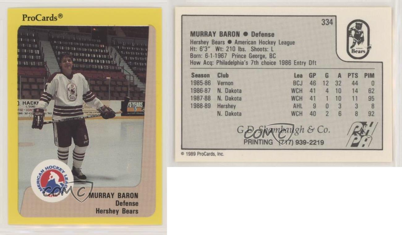 A4222 - You Pick 1989-90 ProCards AHL Hockey Cards 201-360 10+ FREE SHIP