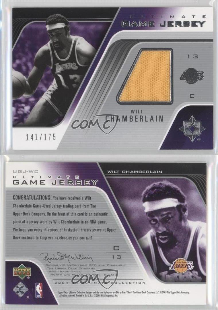 2004-Ultimate-Collection-Game-Jersey-UGJ-WC-Wilt-Chamberlain-Los-Angeles-Lakers