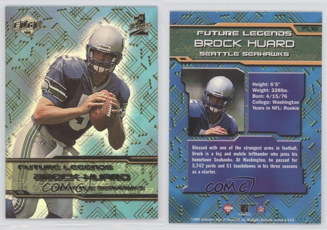 1999-Collector-039-s-Edge-1st-Place-Future-Legends-FL19-Brock-Huard-Seattle-Seahawks