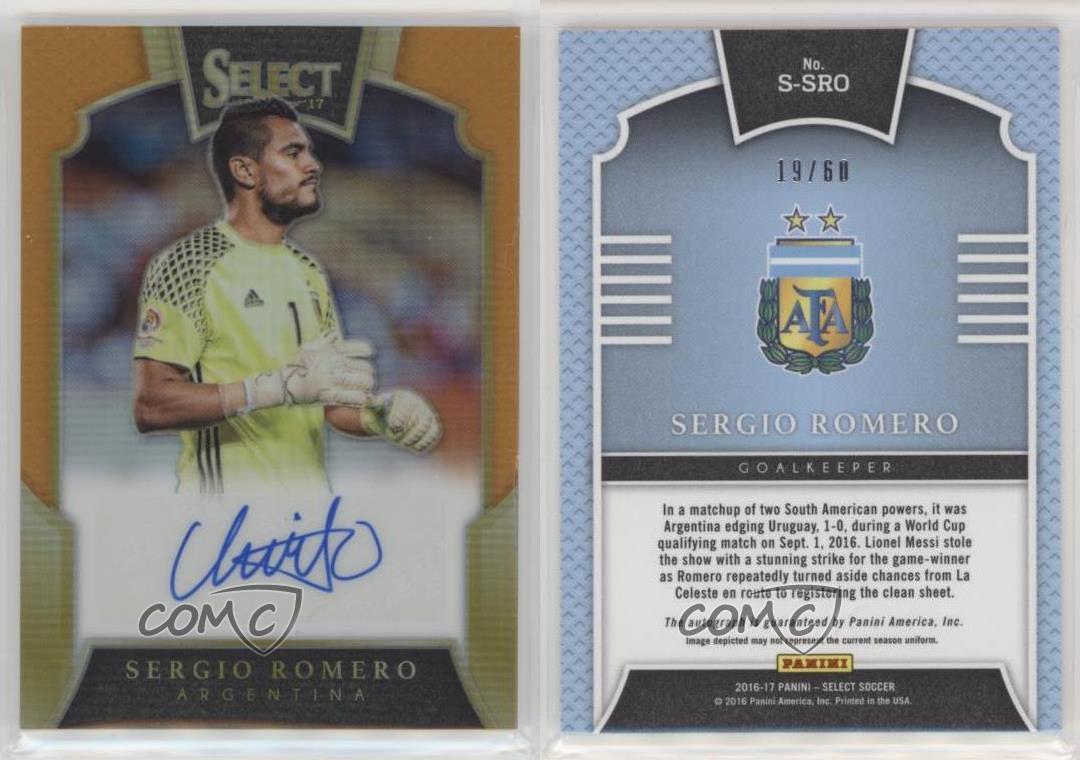 2016-17 Panini Select Soccer #147 Sergio Ramos Espagne