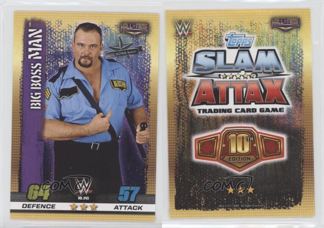 10th Edition Slam Attax #243 Big Boss Man