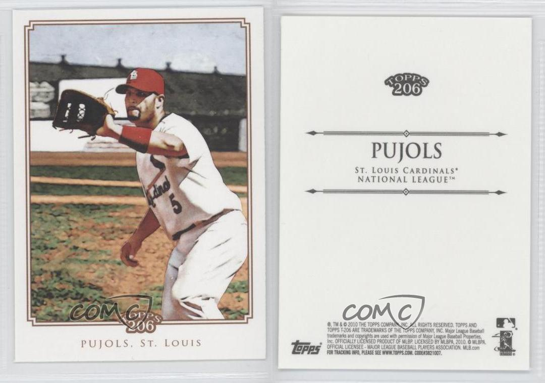 2010-Topps-206-ALPU-Albert-Pujols-St-Louis-Cardinals-Baseball-Card