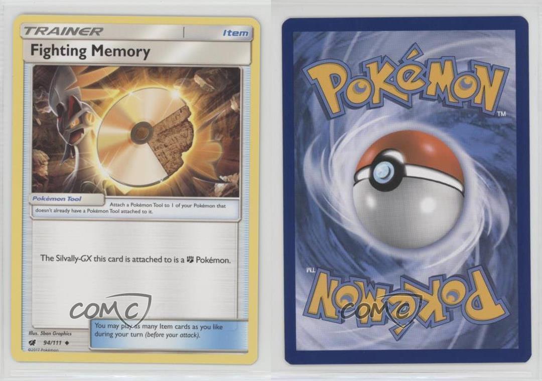 Fighting Memory 94//111 Uncommon NM-M Pokemon TCG Crimson Invasion