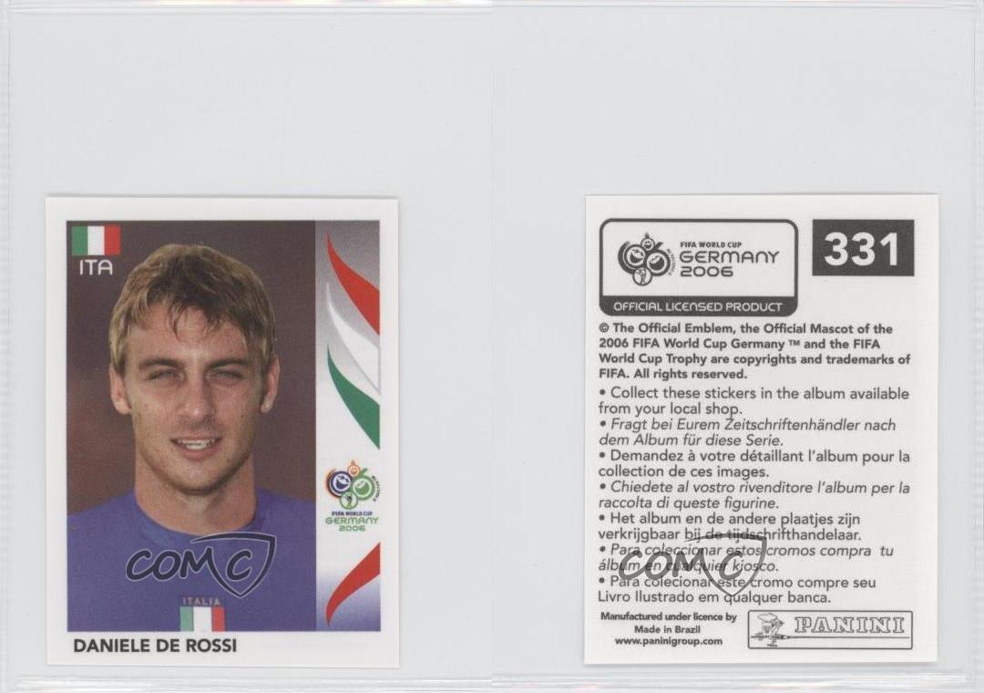 Panini WORLD CUP 2006-Daniele De Rossi Italia no 331