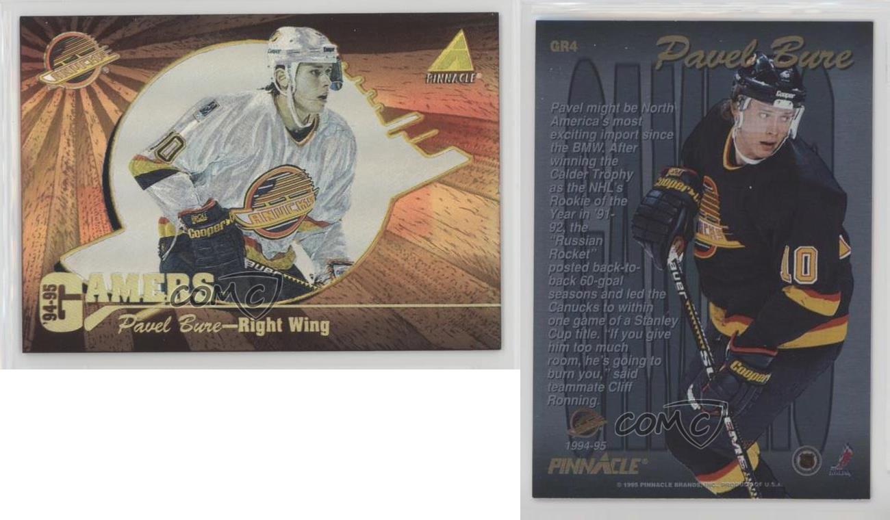 Pavel Bure 1994-95 Pinnacle # 140 NM//MT Hockey Card