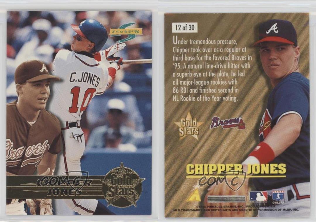 Baseball Card 2006 Topps # 25 NM//M Chipper Jones