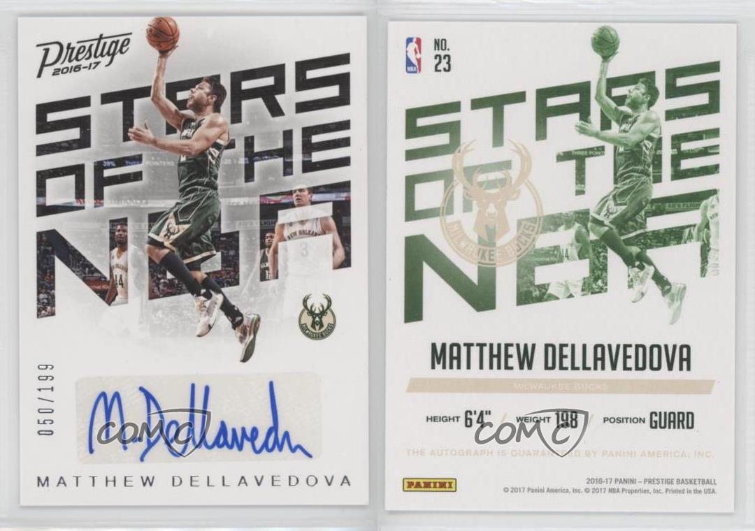 2016-17-Panini-Prestige-Stars-of-the-NBA-Signatures-23-Matthew-Dellavedova-Auto