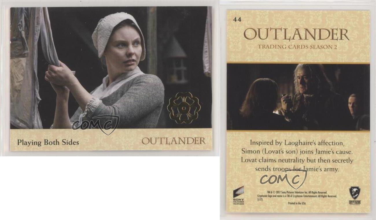 Outlander Season 2 Gold Jacobite Seal Base Card #49 Damsel in Distress