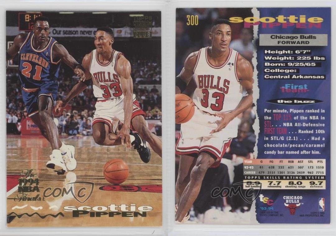 1993-Topps-Stadium-Club-NBA-Finals-Winner-Prize-300-Scottie-Pippen-Chicago-Bulls