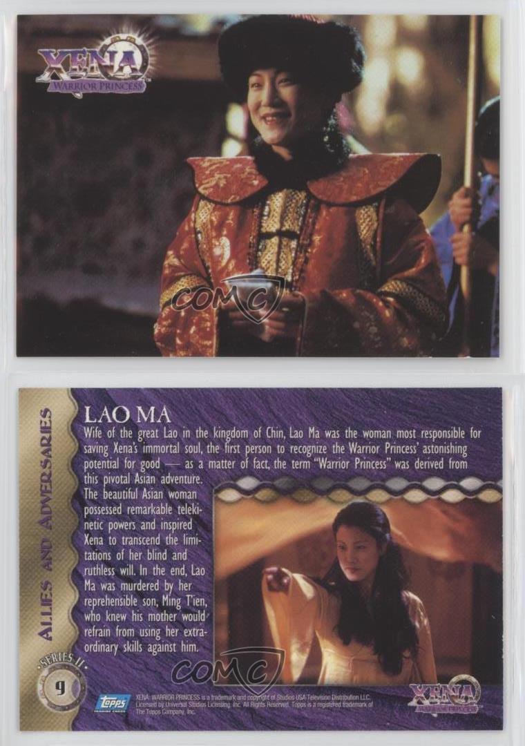 Xena Warrior Princess Season 3 Incarnations Chase Card #9