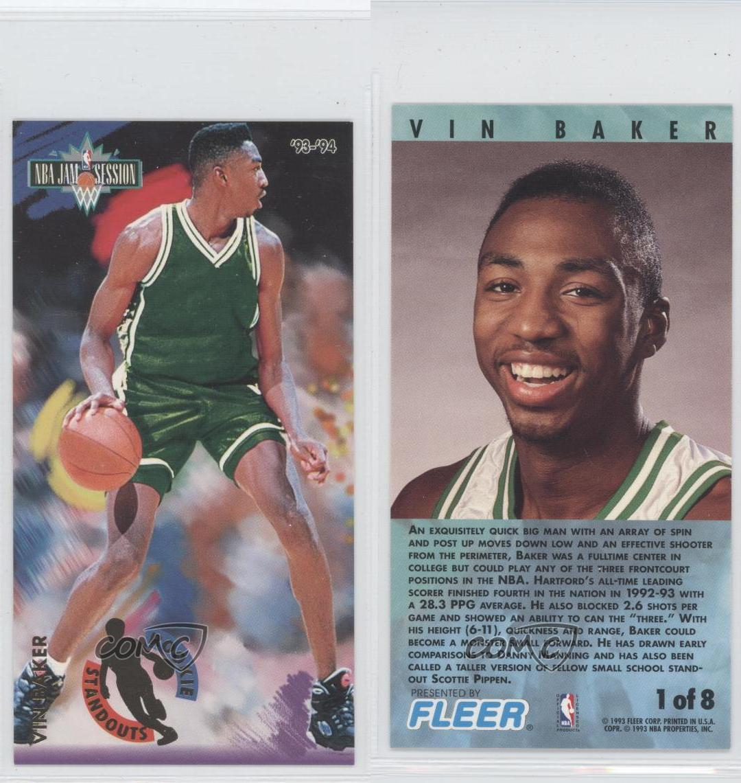 1993-94 NBA Jam Session Rookie Standouts #1 Vin Baker