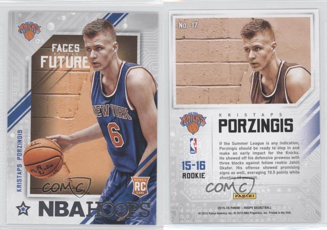 Kristaps Porzingis 2015 Knicks
