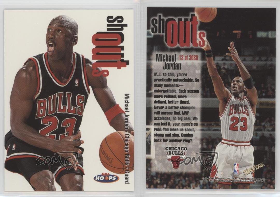 Nba Basketball Series Michael Jordan Chicago Bulls