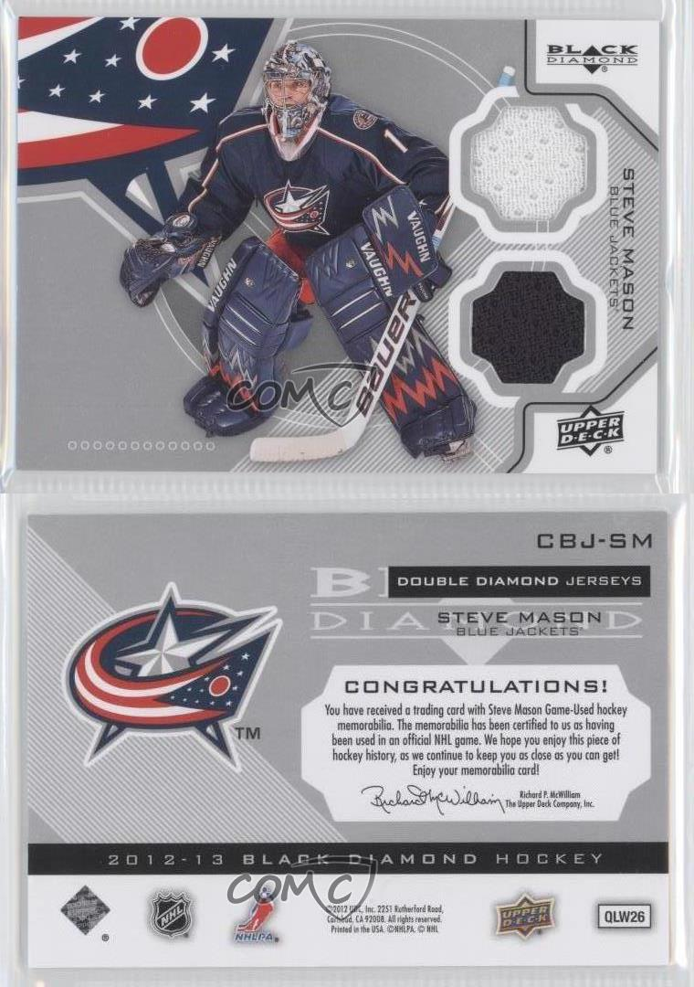 2012-13 Upper Deck Black Diamond Double Jersey Chris Stewart #STL-CS