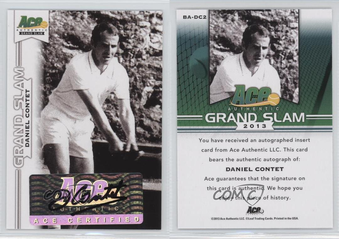 2013-Ace-Authentic-Grand-Slam-BA-DC2-Daniel-Contet-Auto-Autographed-Tennis-Card thumbnail 7