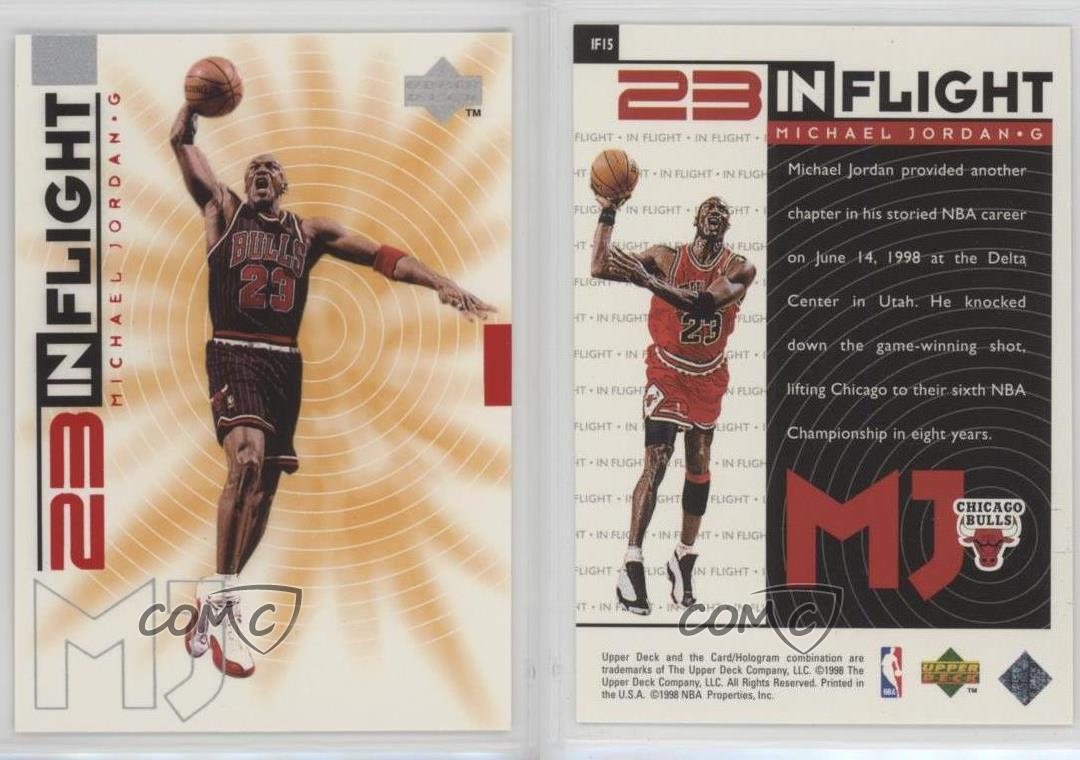 1998-99-Upper-Deck-Living-Legend-23-In-Flight-IF15-Michael-Jordan-Chicago-Bulls