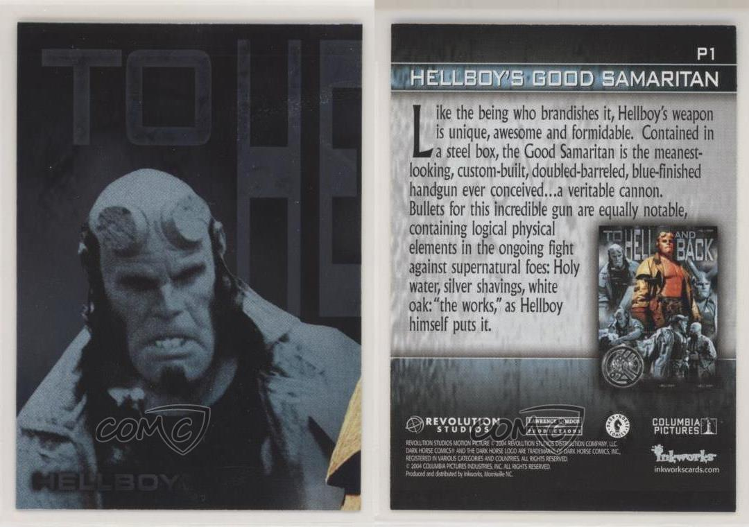 Hellboy The Movie To Hell And Back Chase Card P8
