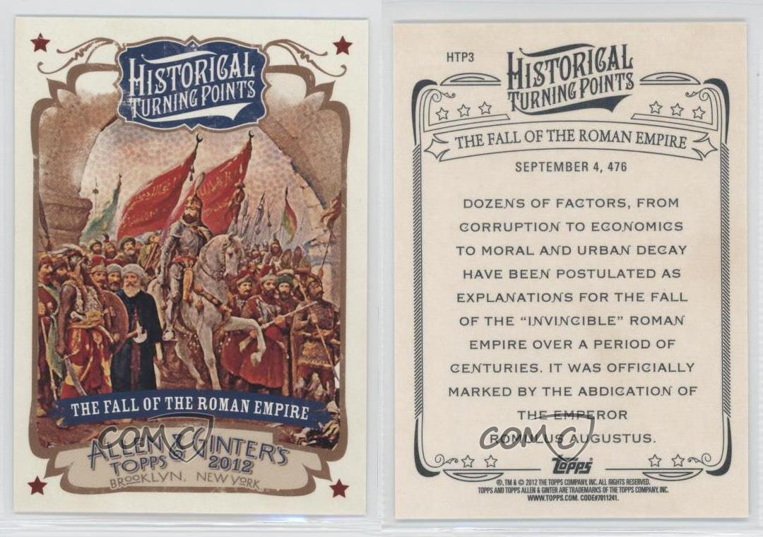 2012 Topps Allen & Ginter's Historical Turning Points The ...