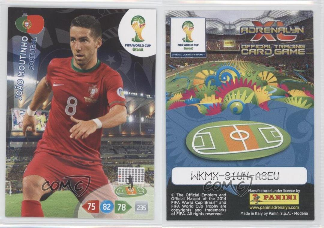 Adrenalyn XL Road to 2014 World Cup Brazil Card Selection Portugal