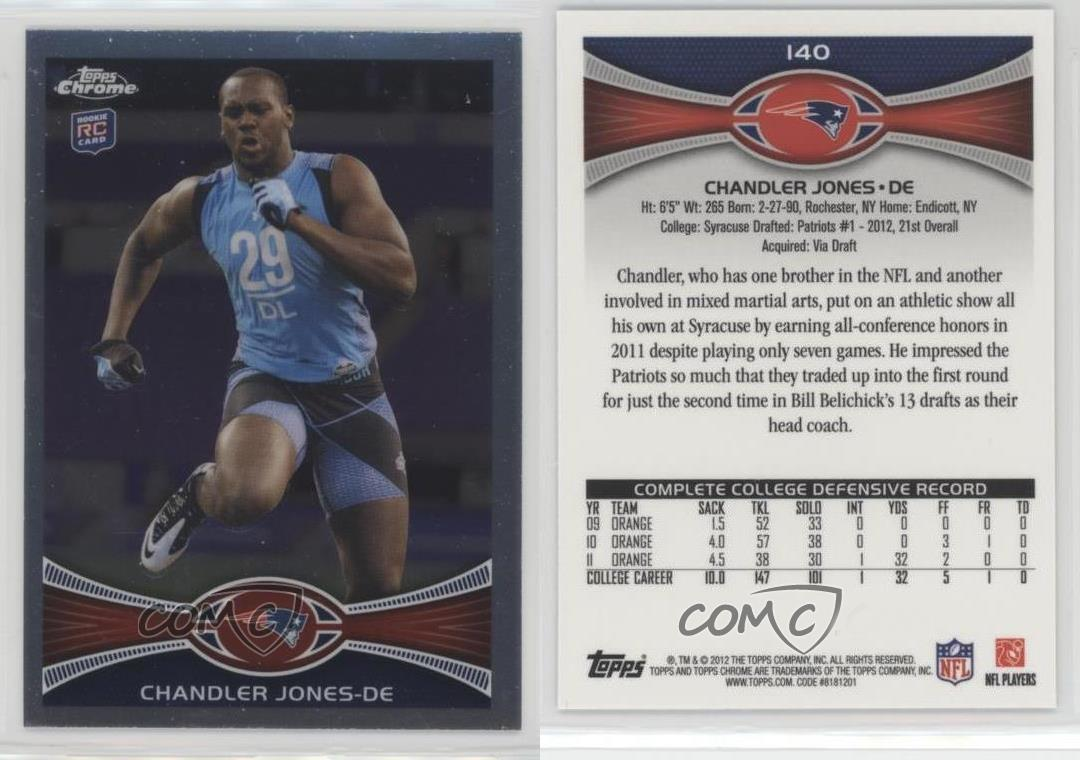 2012-Topps-Chrome-140-Chandler-Jones-New-England-Patriots-RC-Football-Card