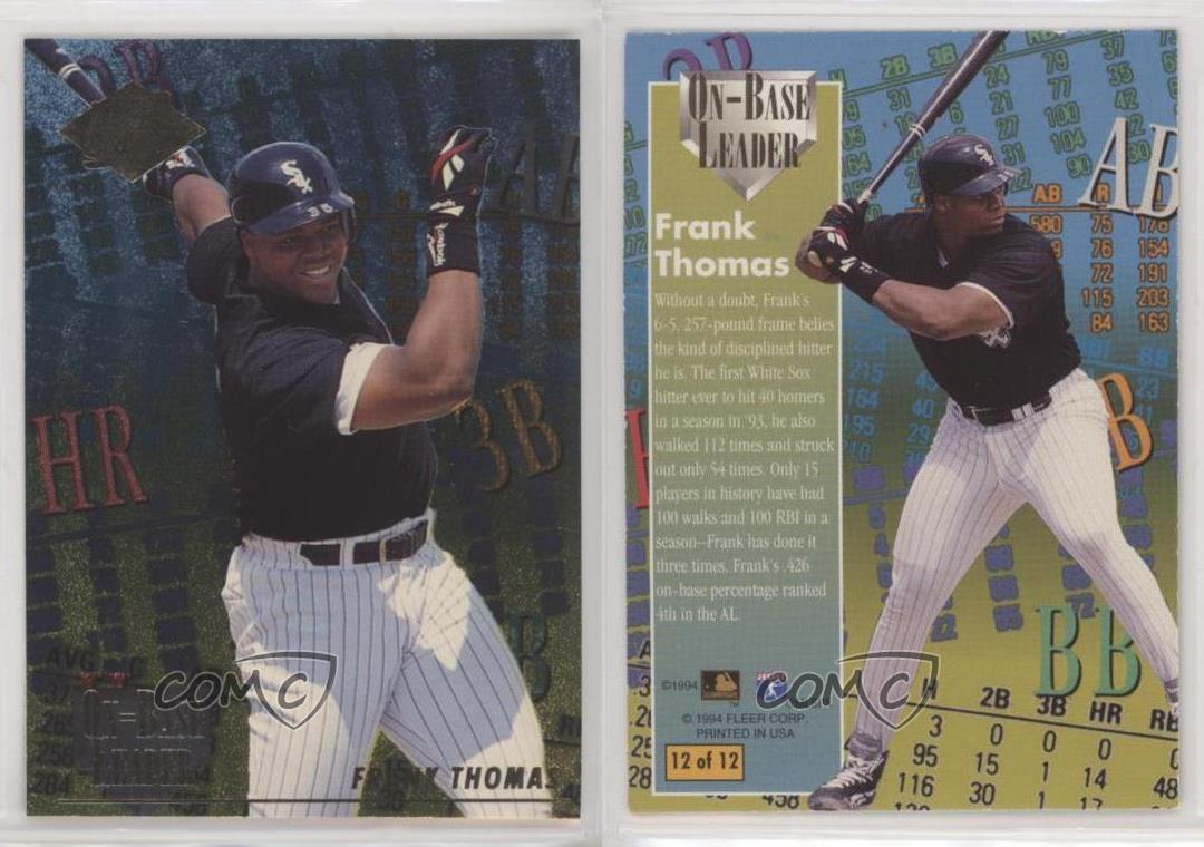 Chicago White Sox Baseball Cards 100 Card Assortment