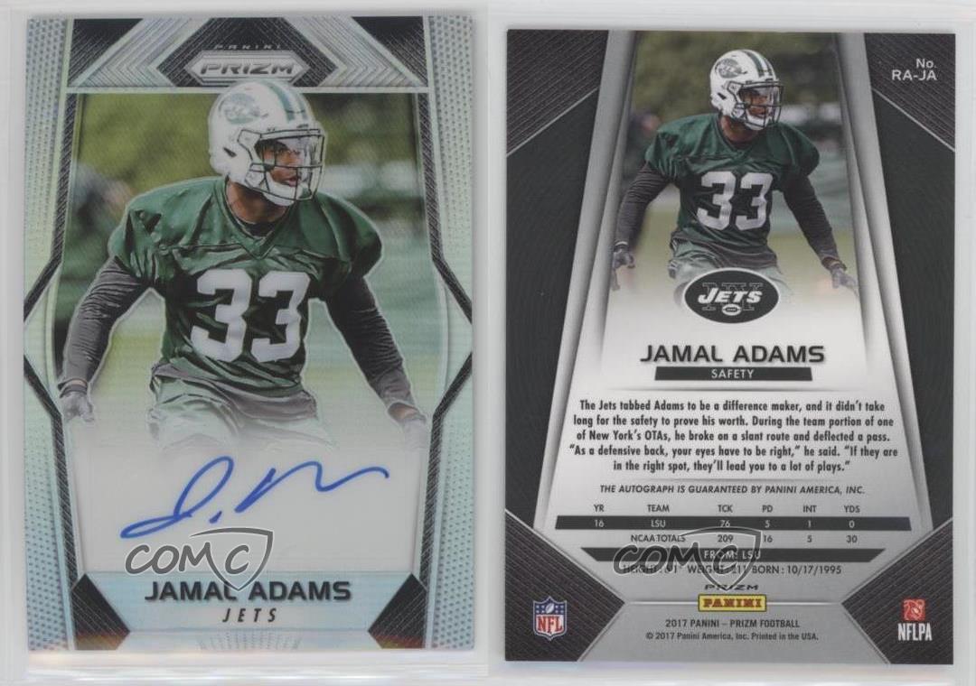 jamal adams autographed jersey