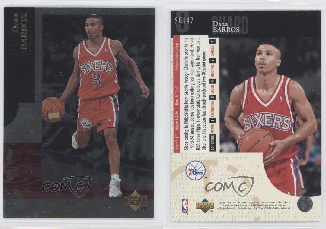 1994 95 Upper Deck Special Edition SE147 Dana Barros Philadelphia
