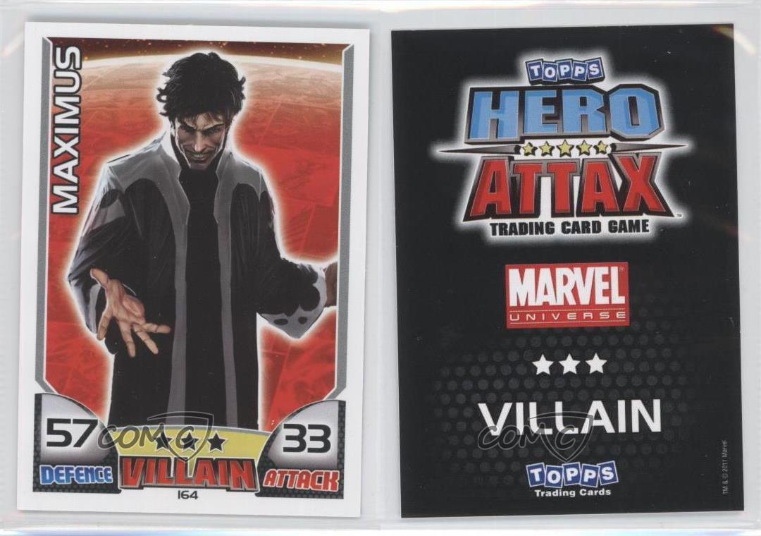 Marvel Hero Attax Series 1 Base Card #134 Dracula