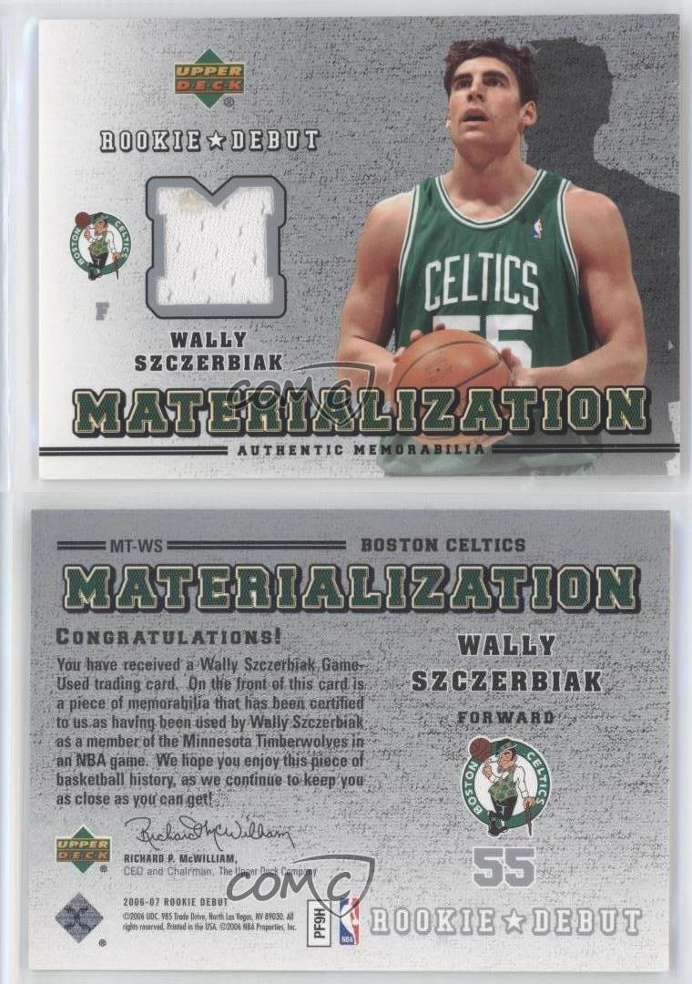 2006 07 Upper Deck Rookie Debut Materialization MT WS Wally