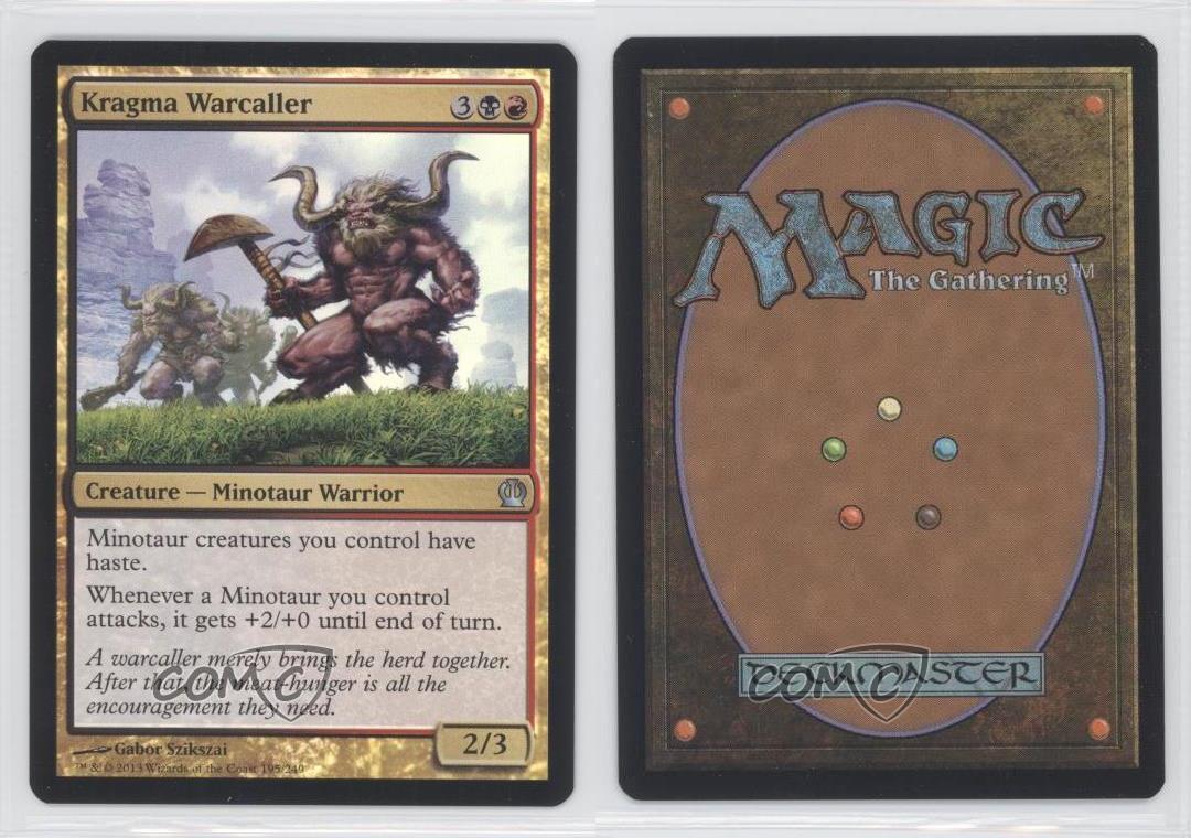 4x Kragma Warcaller MTG Magic Theros THS x4