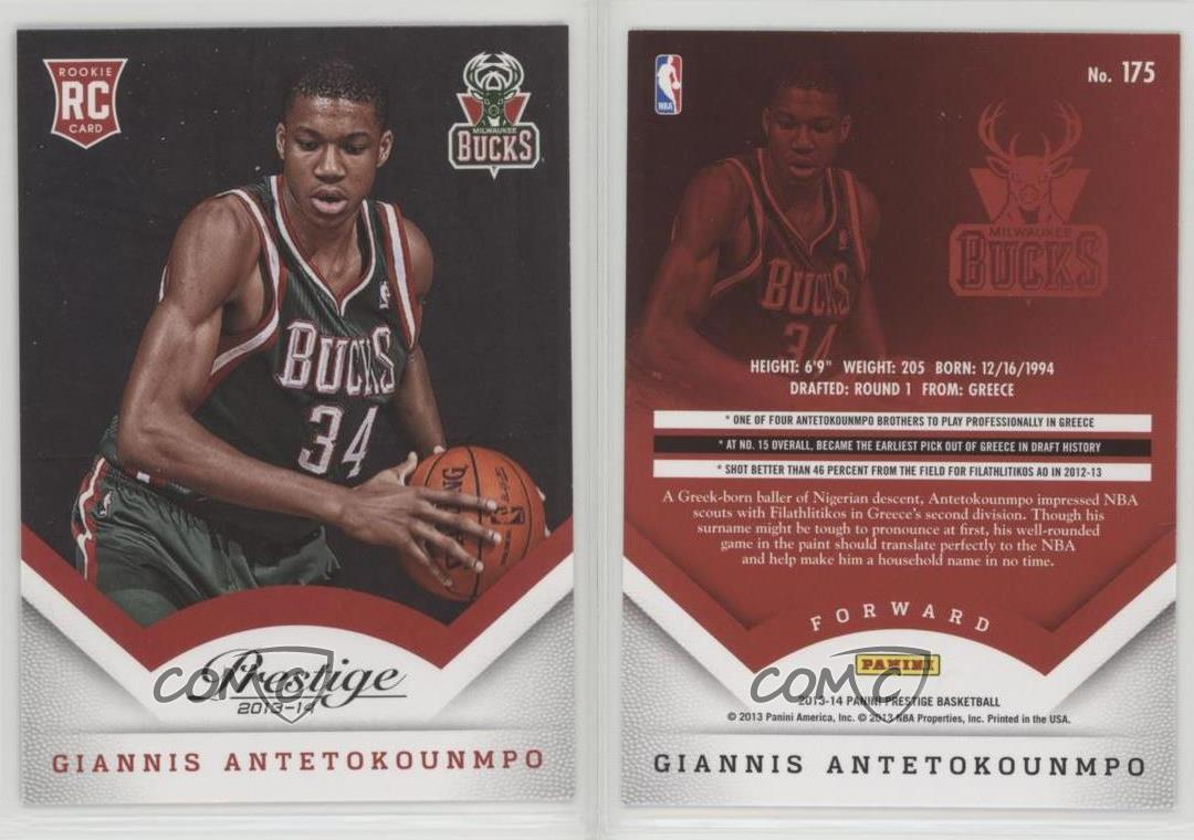 2013-14-Panini-Prestige-175-Giannis-Antetokounmpo-Milwaukee-Bucks-RC-Rookie-Card