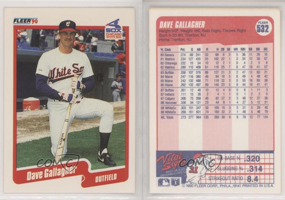 1990 Fleer Baseball Card #18 Dave Parker