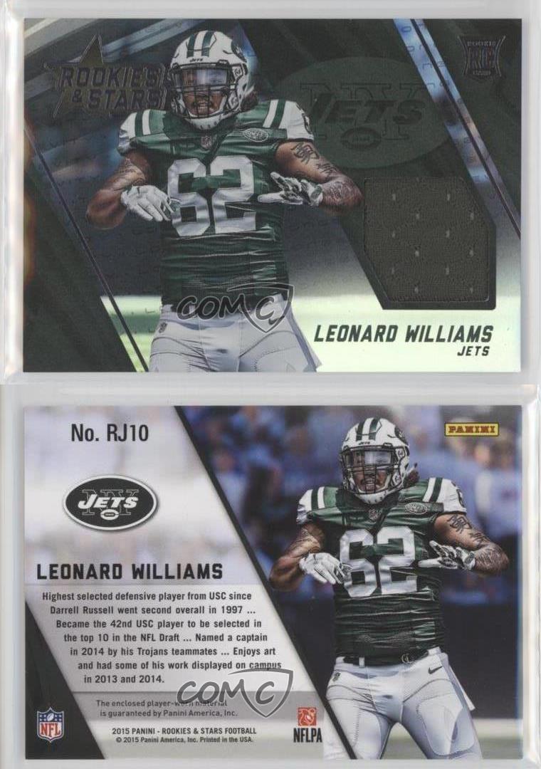 leonard williams usc jersey