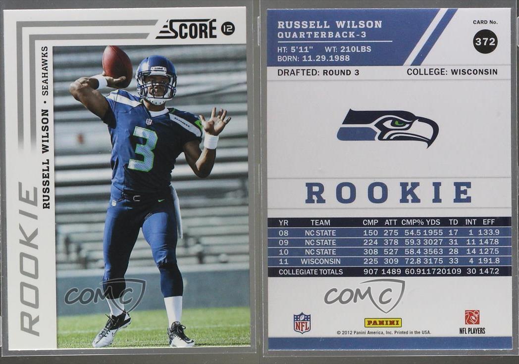 Seattle Seahawks NFL Football Card Team Sets