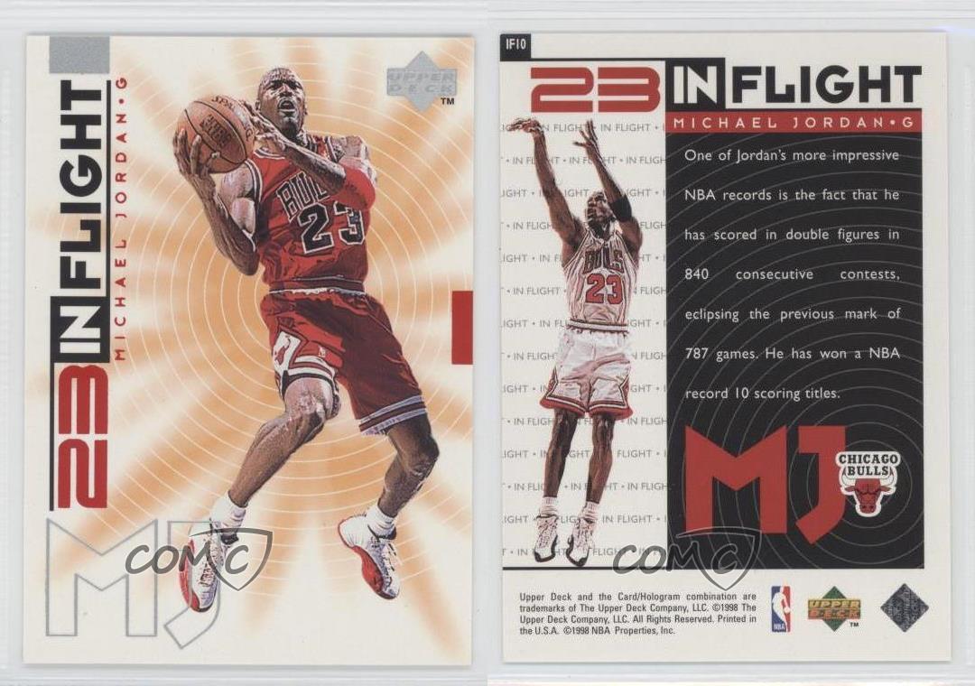 1998-99-Upper-Deck-Living-Legend-23-In-Flight-IF10-Michael-Jordan-Chicago-Bulls