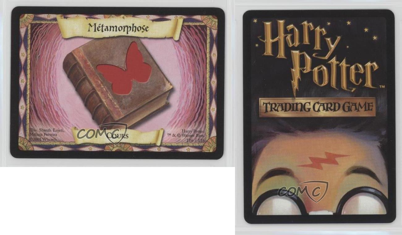 4x Transfiguration Lessons Harry Potter trading card game TCG MINT