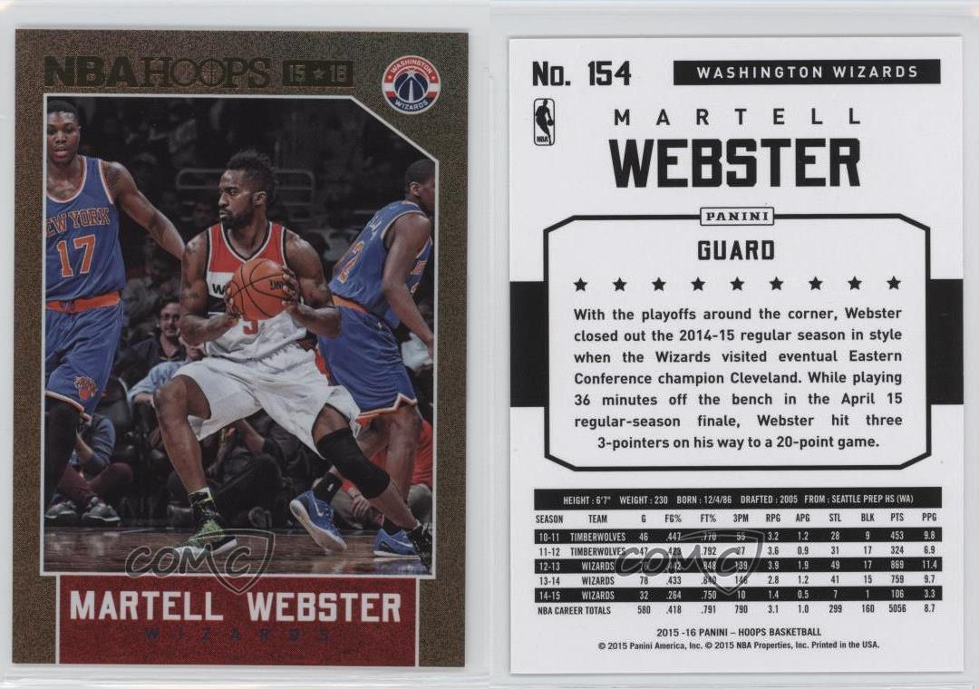 Martell Webster Wizards 2015
