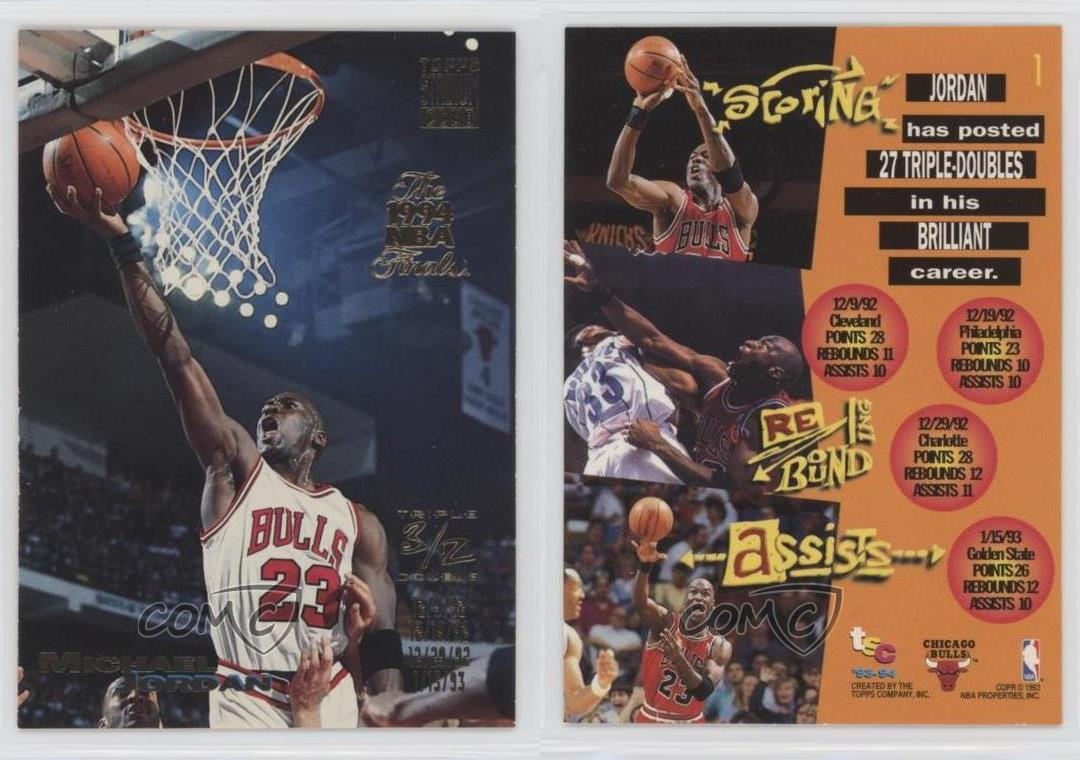 1993-Topps-Stadium-Club-NBA-Finals-Winner-Prize-1-Triple-Double-Michael-Jordan