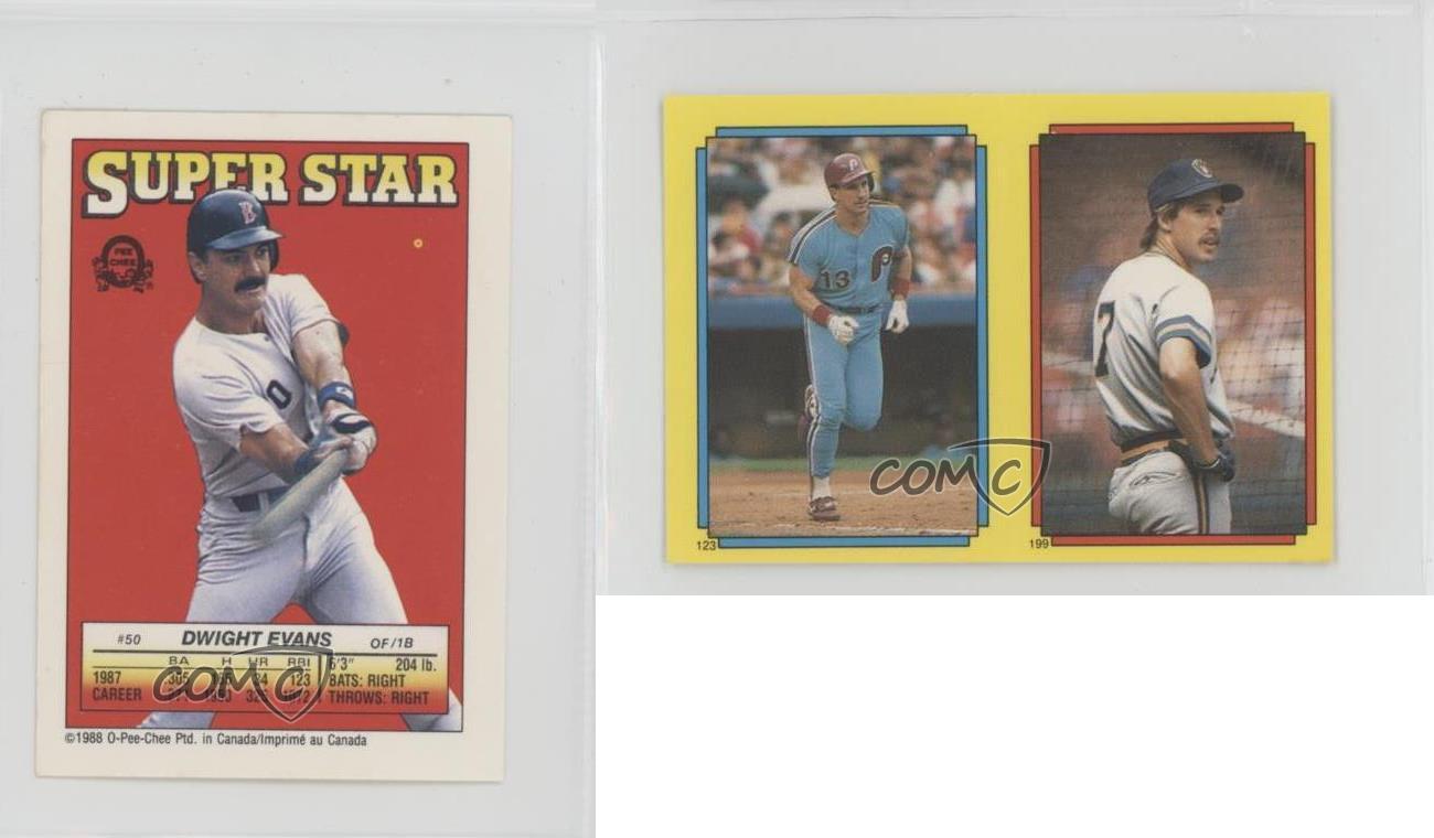 1988-50-4-Dwight-Evans-Lance-Parrish-123-Dale-Sveum-199-Boston-Red-Sox-Lance