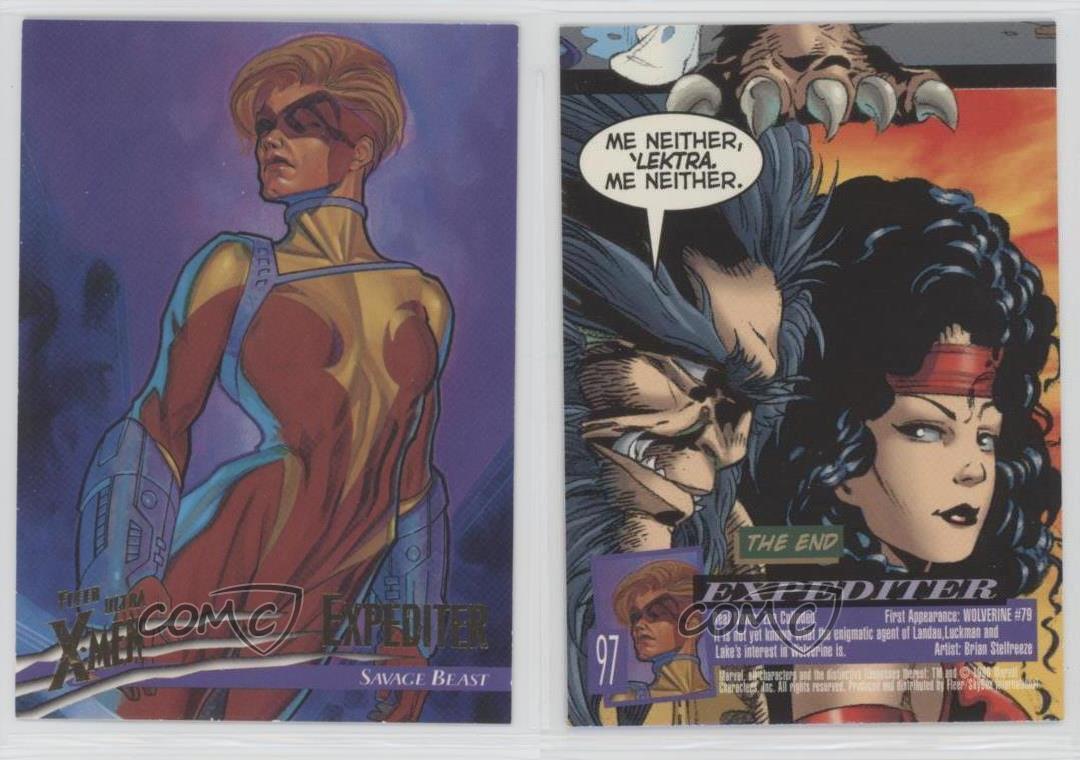 1996 Fleer Ultra X-Men Wolverine BASE Trading Card #37 WOLVERINE Marvel