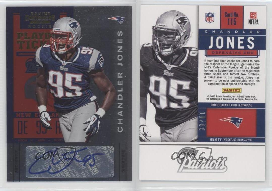 2012-Panini-Contenders-Playoff-Ticket-115-Chandler-Jones-New-England-Patriots