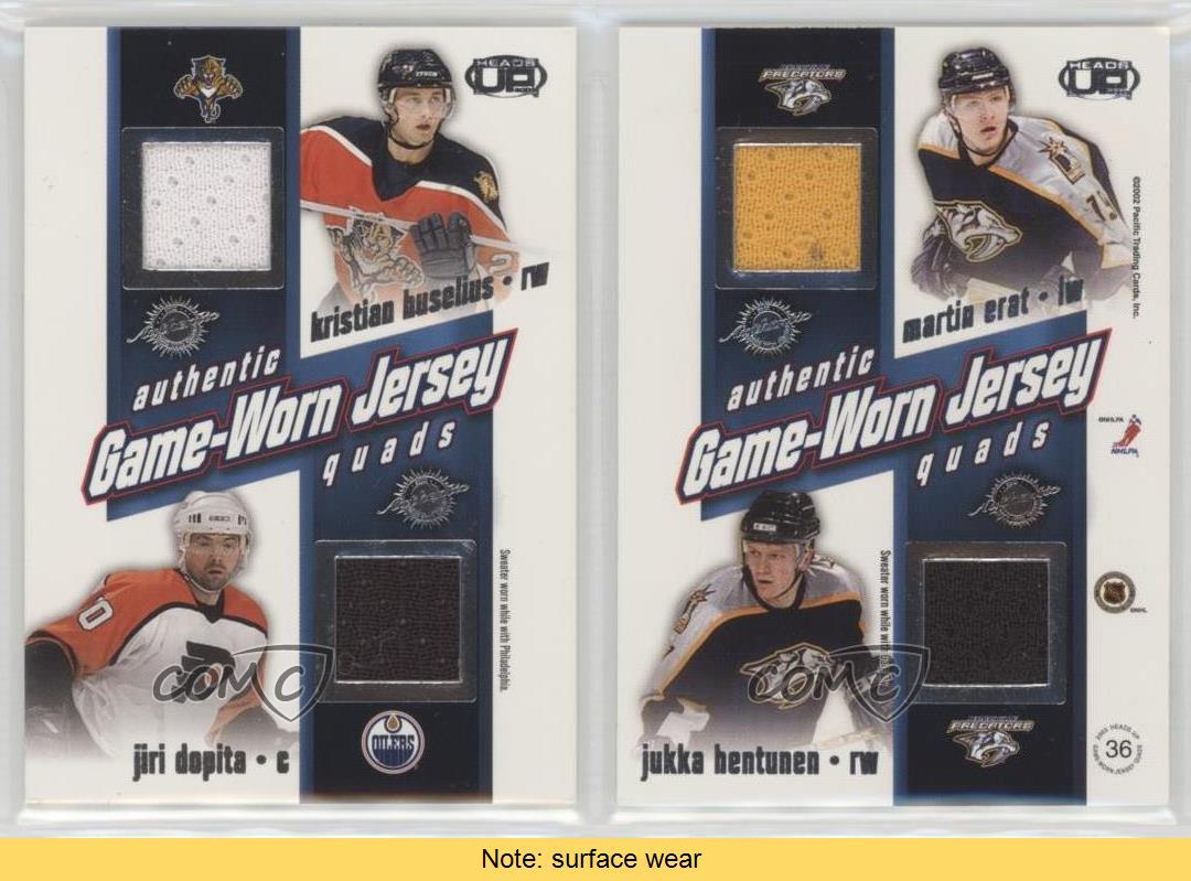 2002-36-Kristian-Huselius-Jiri-Dopita-Martin-Erat-Jukka-Hentunen-Calgary-Flames