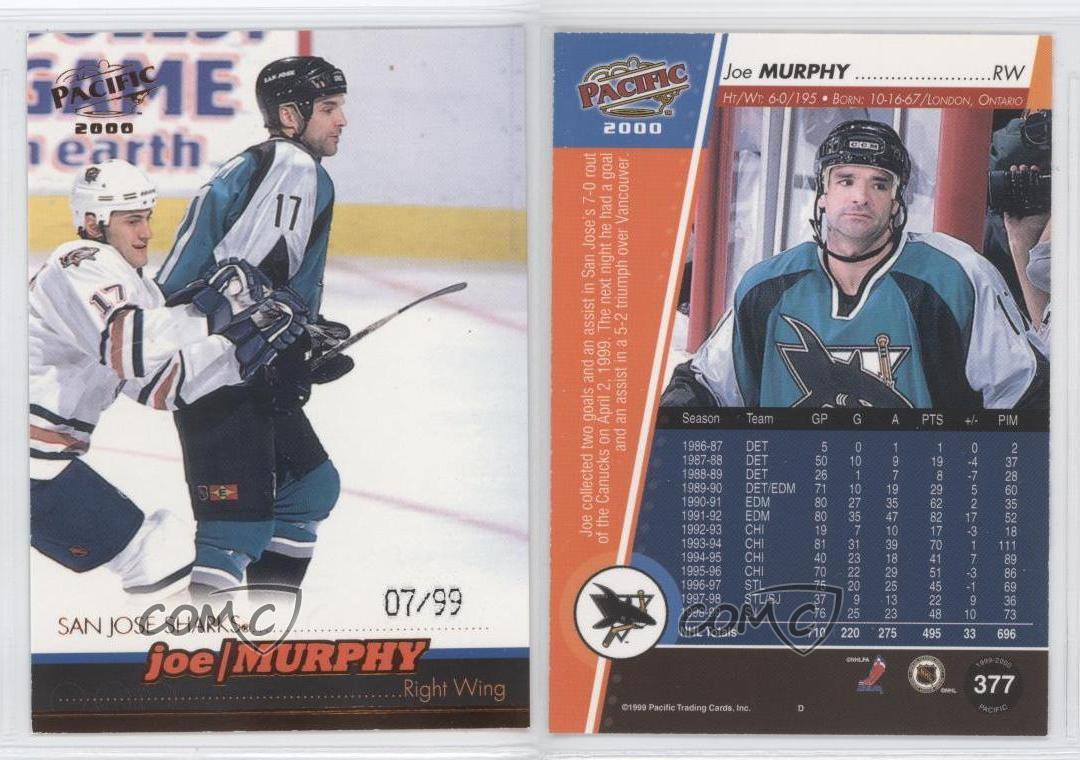 1999-00 Pacific Factory Sealed Hockey Hobby Box