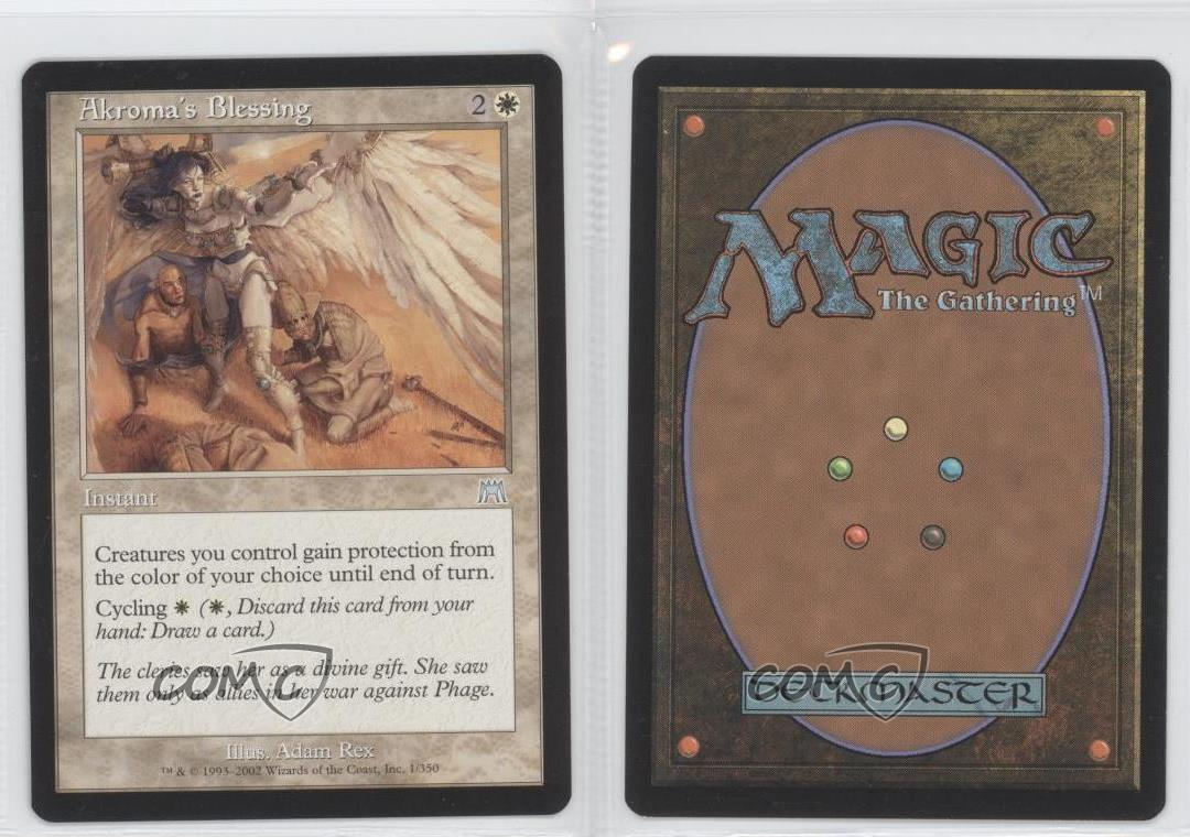Onslaught Magic The Gathering Akroma/'s Blessing