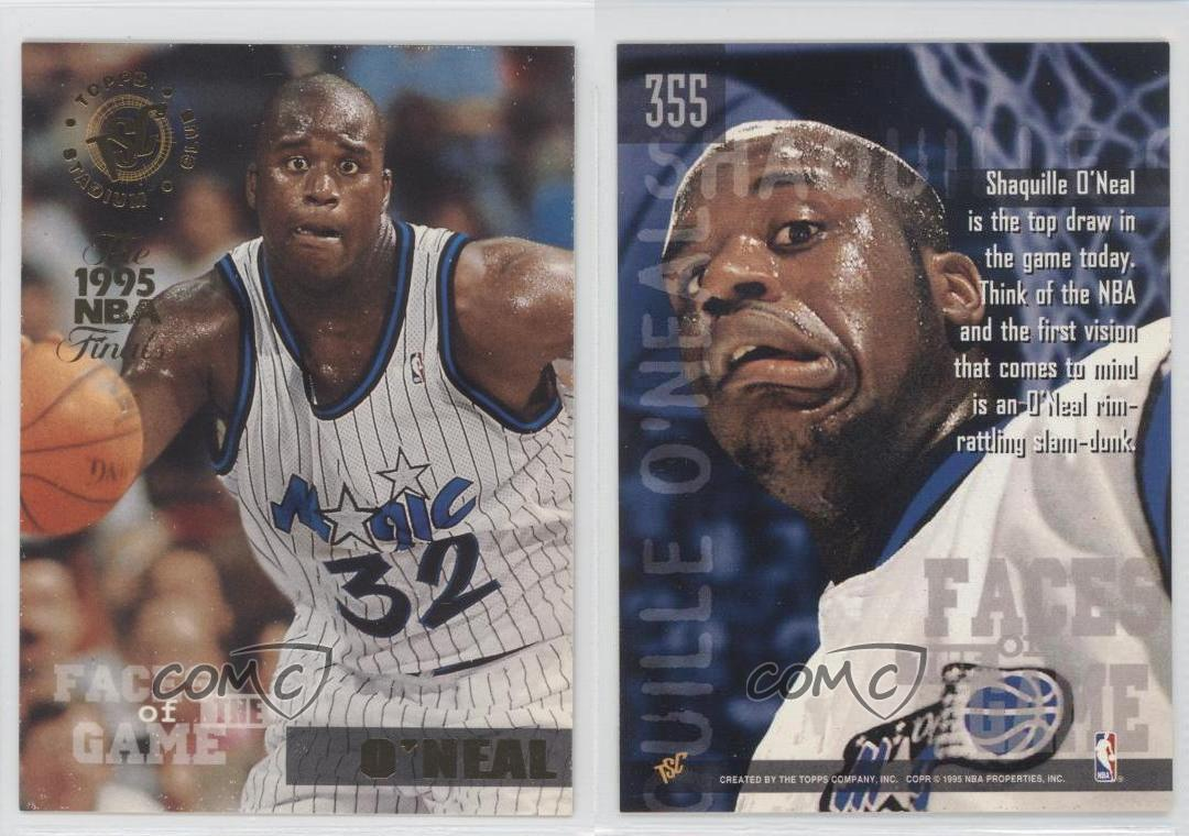 1994-95 Topps Stadium Club Prizes The 1995 NBA Finals #355 Shaquille O'Neal Card | eBay