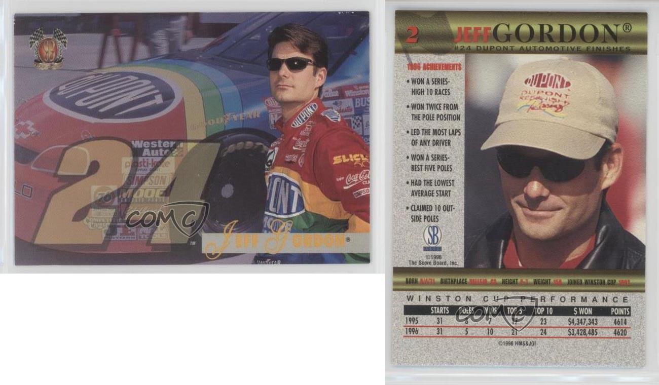 1997-Score-Board-SB-2-Jeff-Gordon-Racing-Card