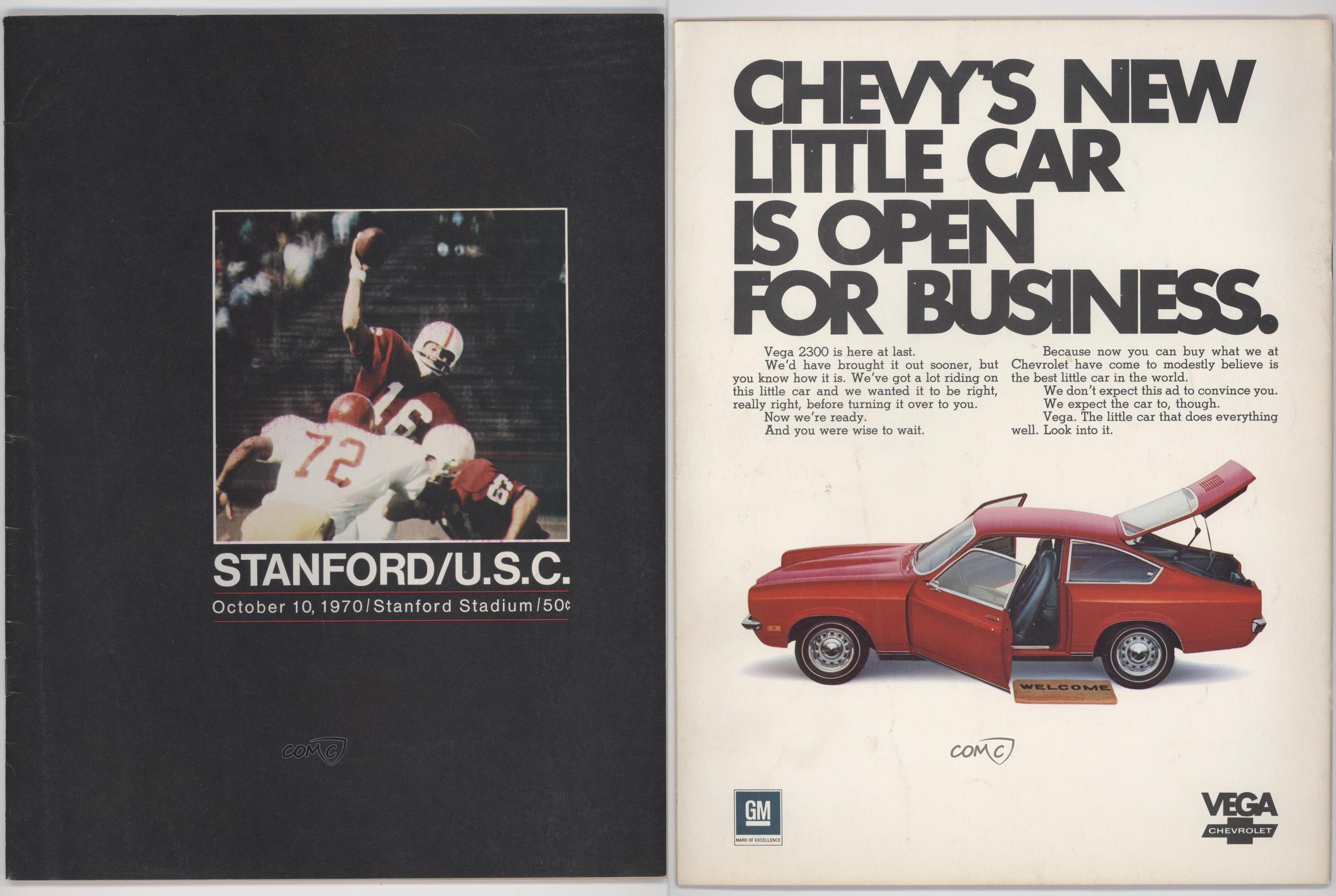 1970-Stanford-Cardinal-10-10-vs-USC-Trojans-Jim-Plunkett-Jim-Plunkett-Rookie
