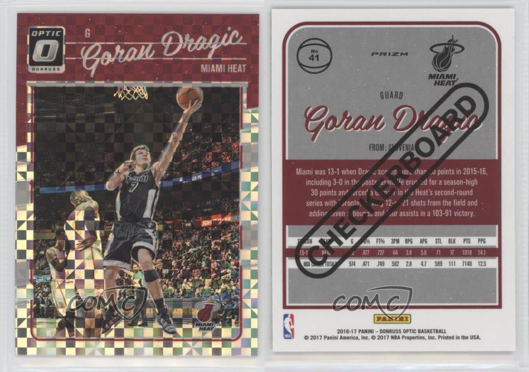 ... 2016-17-Panini-Donruss-Optic-Checkerboard-41-Goran- ... 9fe86487d