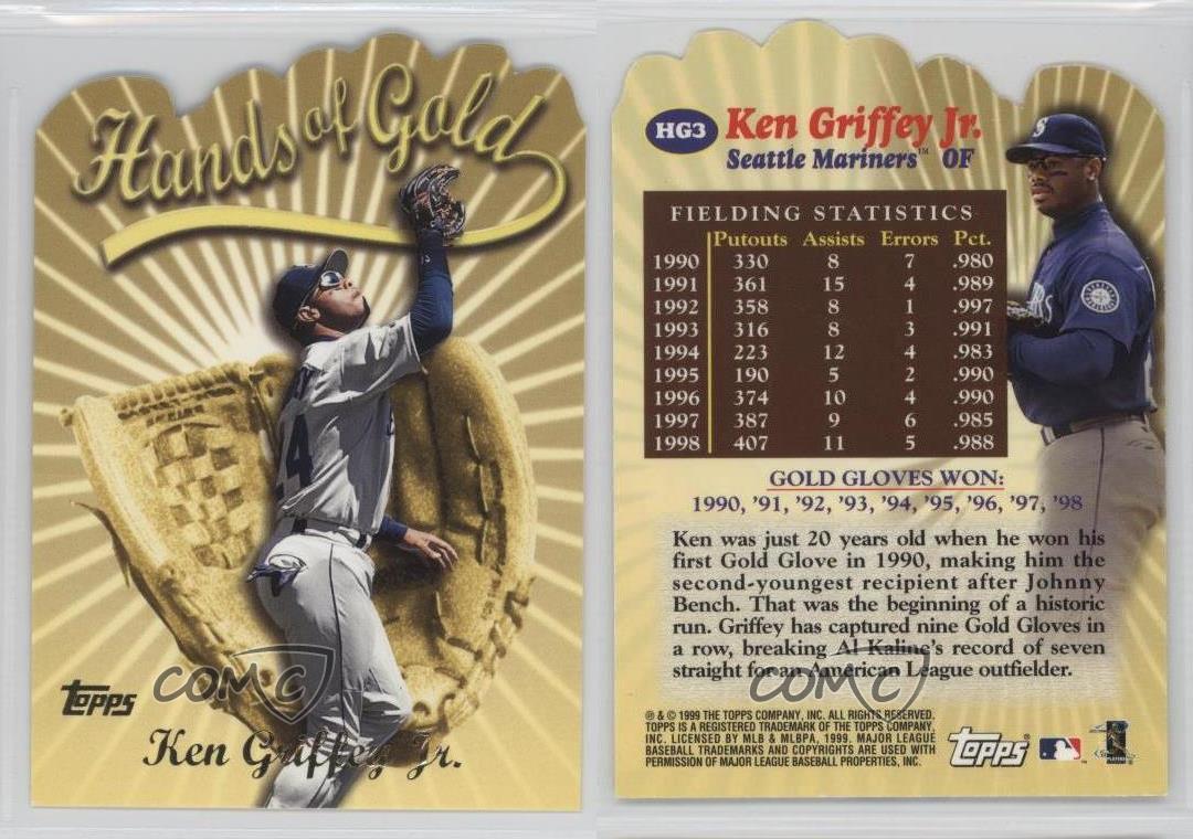 2000 Topps Hands Of Gold Hg3 Ken Griffey