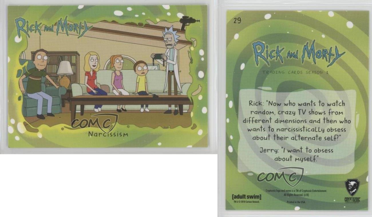 Rick And Morty Season 1 Foil Base Card #30 Trust